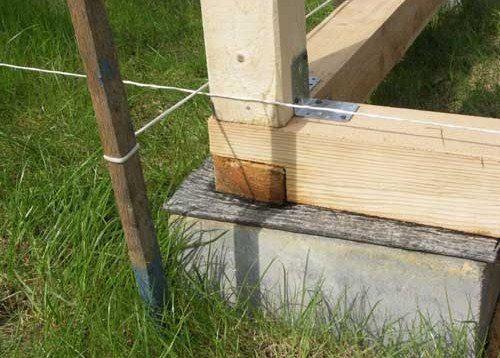 Гидроизоляция предотвратит загнивание бруса обвязки.