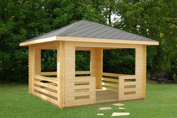 Идеальная постройка с точки зрения простоты и использования именно поддонов