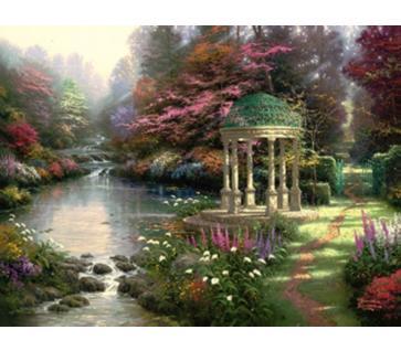 Идеи места для отдыха можно подсмотреть у профессиональных художников.
