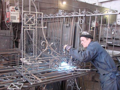 Изготовление кованых элементов