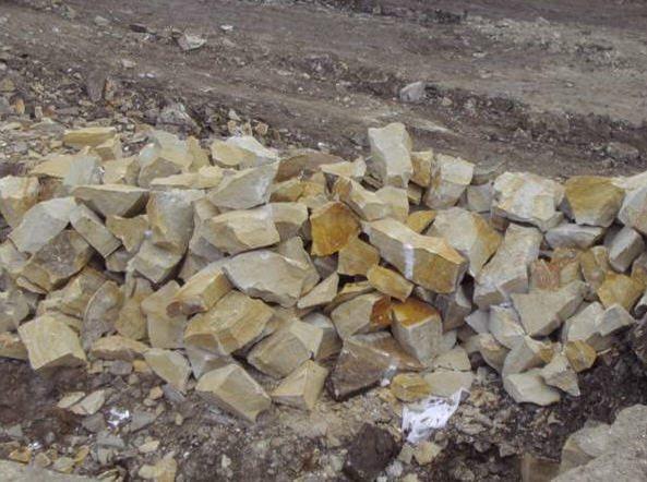 Карьерные камни