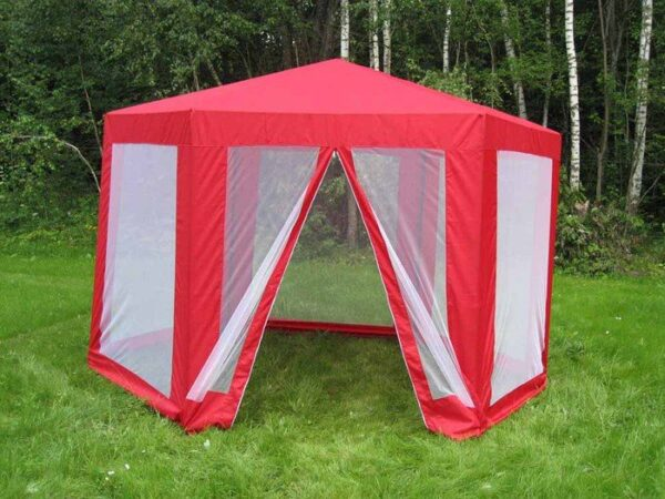 Москитная сетка для беседки в виде шатра