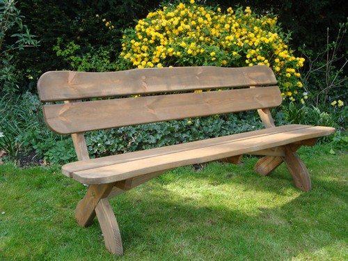 На фото - если подойти к вопросу правильно, у вас получится великолепная скамья для беседки