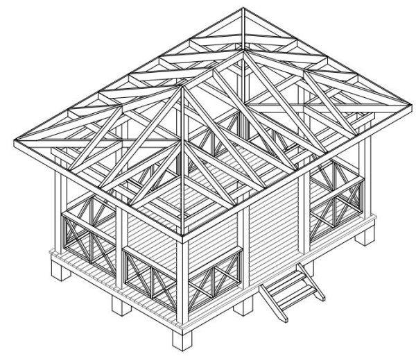 Общая схема конструкции