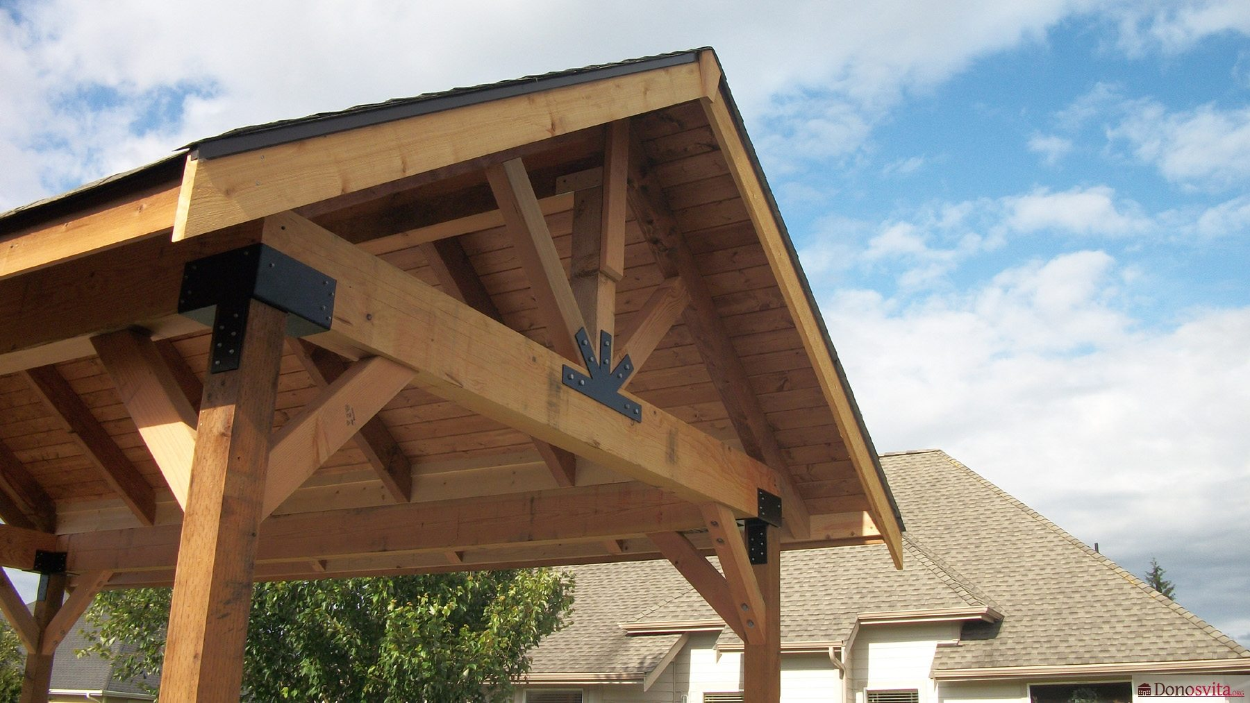Простейшая крыша своими руками