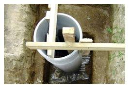 С помощью такого приспособления из деревянных брусков, можно обойтись без установки опалубки.