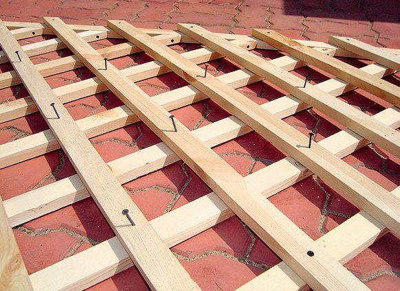 Сделать решетку на деревянную