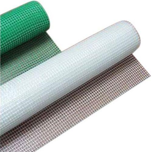 Сетка защитная противомоскитная из стеклонитей с разноцветным покрытием ПВХ.