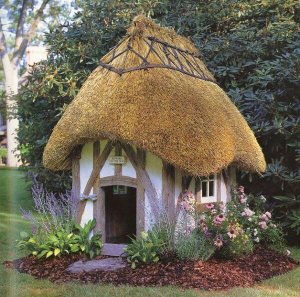 Сказочный домик в этническом стиле
