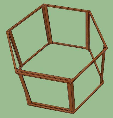 Трёхмерная модель стен