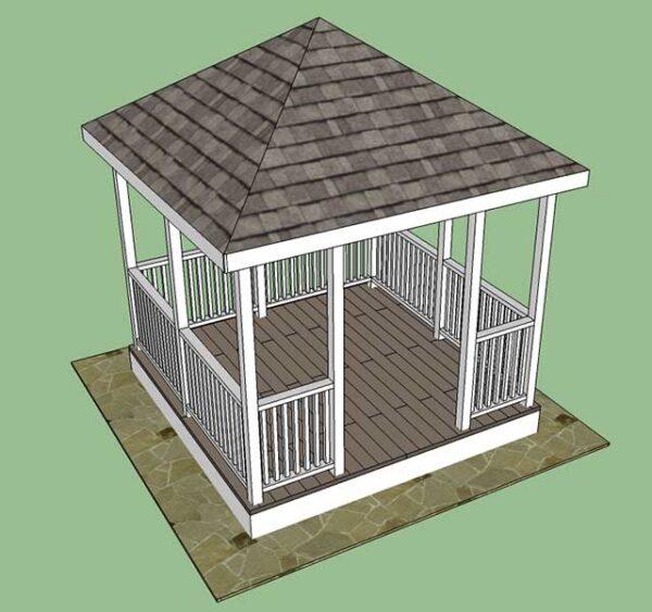 Визуализация строения.