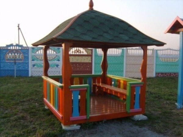 Детские домики для детского сада своими руками фото